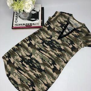 Camo dress casual